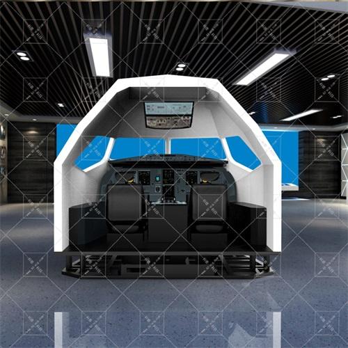 六自由度A320飞行模拟器