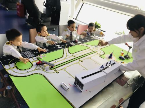 漳州小小尺行员-青少儿航空科普活动持续进行