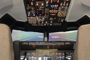 737飞行模拟器视频
